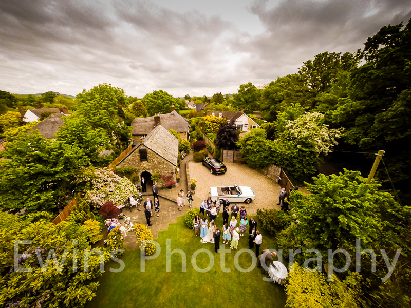 We have now started to incorperate Aerial Photography into Ewins Photography Wedding Photgraphy.